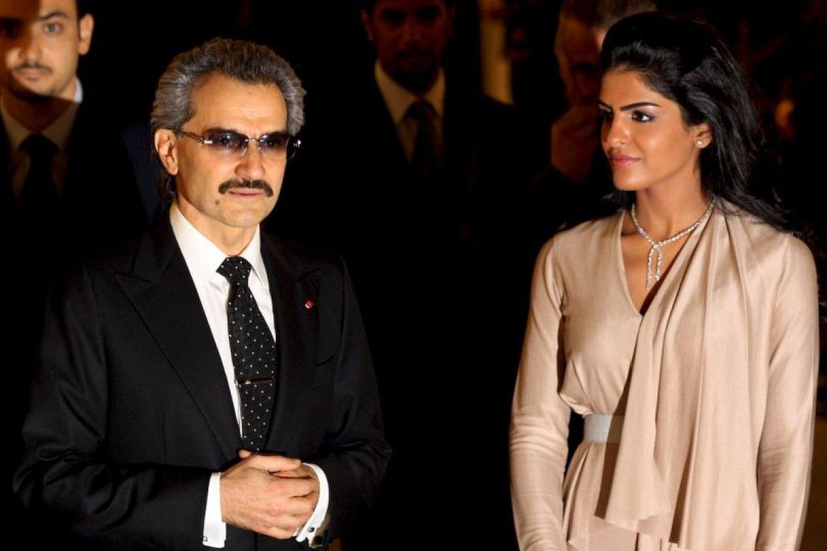 Príncipe Alwaleed Bin Talal Alsaud, de Arabia Saudita, tiene una fortuna valuada en $17.3 mil millones de dólares. Foto:Getty Images. Imagen Por: