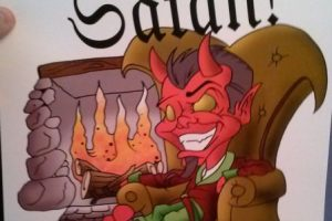 También merchandising. Foto:vía The Satanic Temple. Imagen Por: