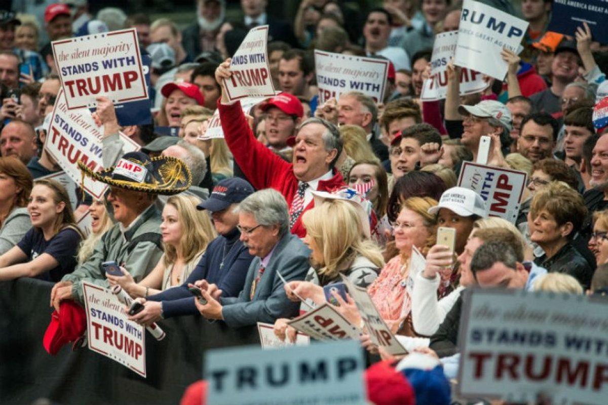 Y el favorito Donald Trump Foto:AFP. Imagen Por: