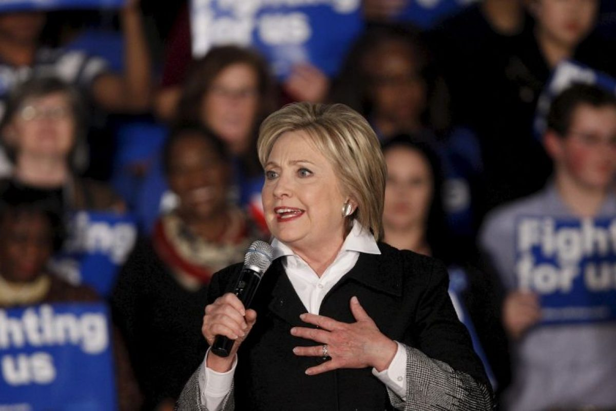 Del lado demócrata se disputan la nominación Hillary Clinton Foto:AFP. Imagen Por: