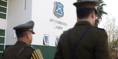 Investigan explosiones al interior de cuartel policial en Lampa