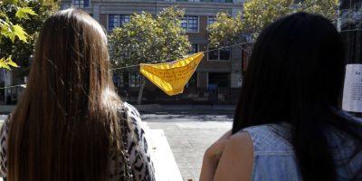 Particular protesta en el Día de la Mujer se tomó la calle República