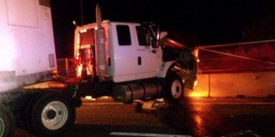 Dos camiones protagonizan violento choque y generan gran congestión en la Ruta 68