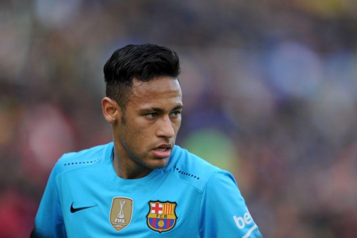 Neymar suma 18 goles en la Liga de España Foto:Getty Images. Imagen Por: