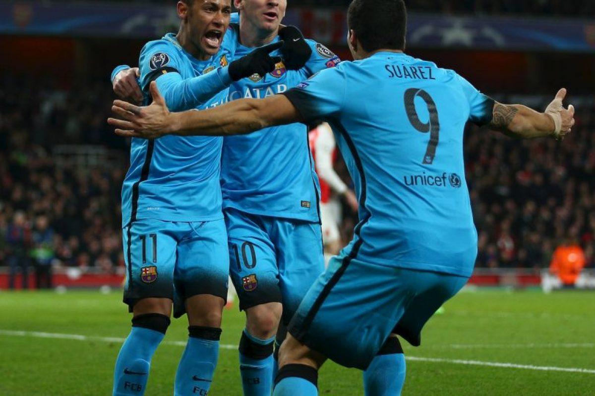 Forma parte de la MSN, junto a Lionel Messi y Luis Suárez Foto:Getty Images. Imagen Por: