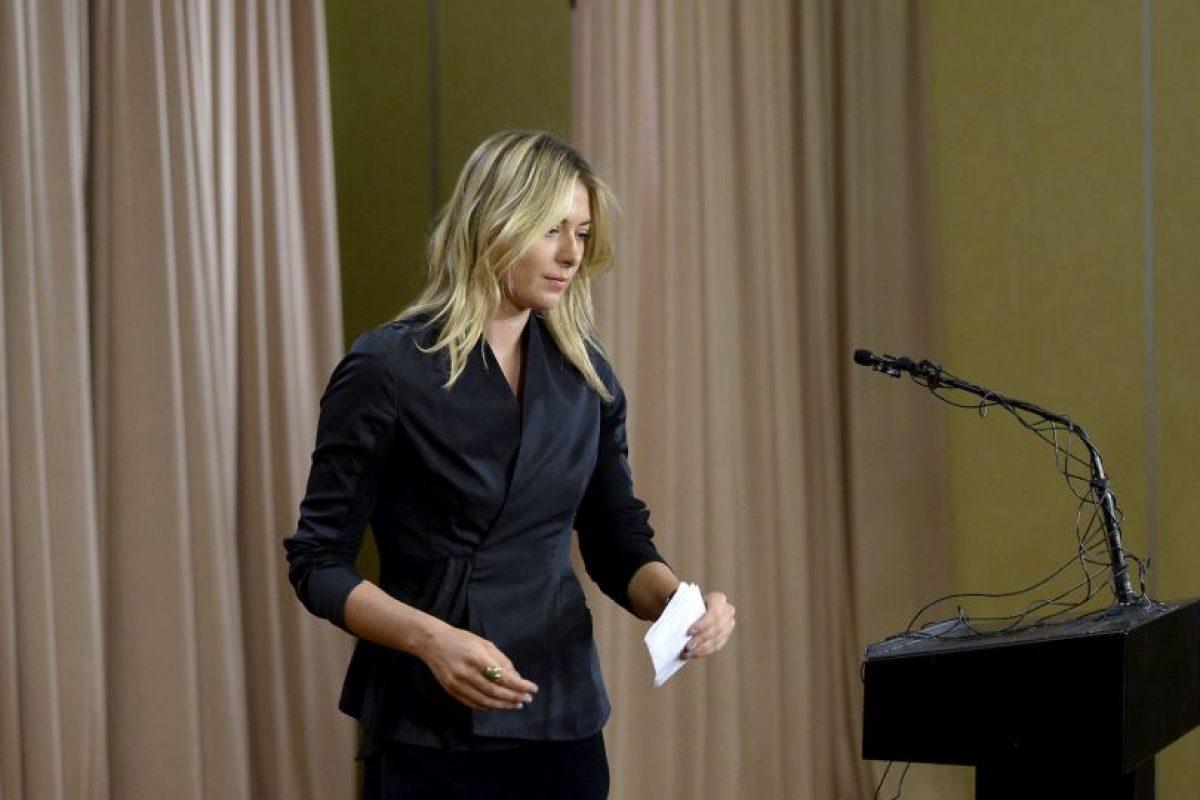 Confesó que dio positivo por meldonium en el Abierto de Australia Foto:Getty Images. Imagen Por: