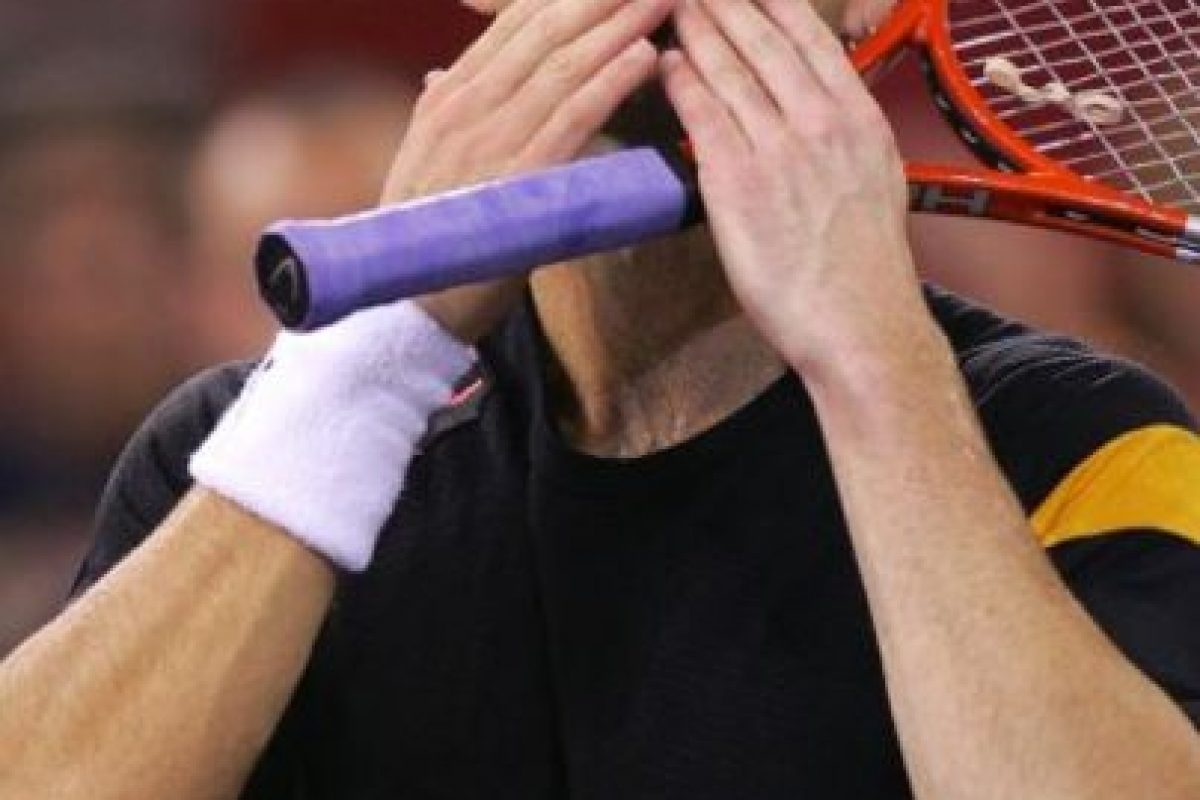 """Andre Agassi: En su libro autobiográfico """"Open: An Autobiography"""", el ex tenista confesó que en 1997 consumió la droga sintética metanfetamina, debido a la presión por una baja de su juego Foto:Getty Images. Imagen Por:"""