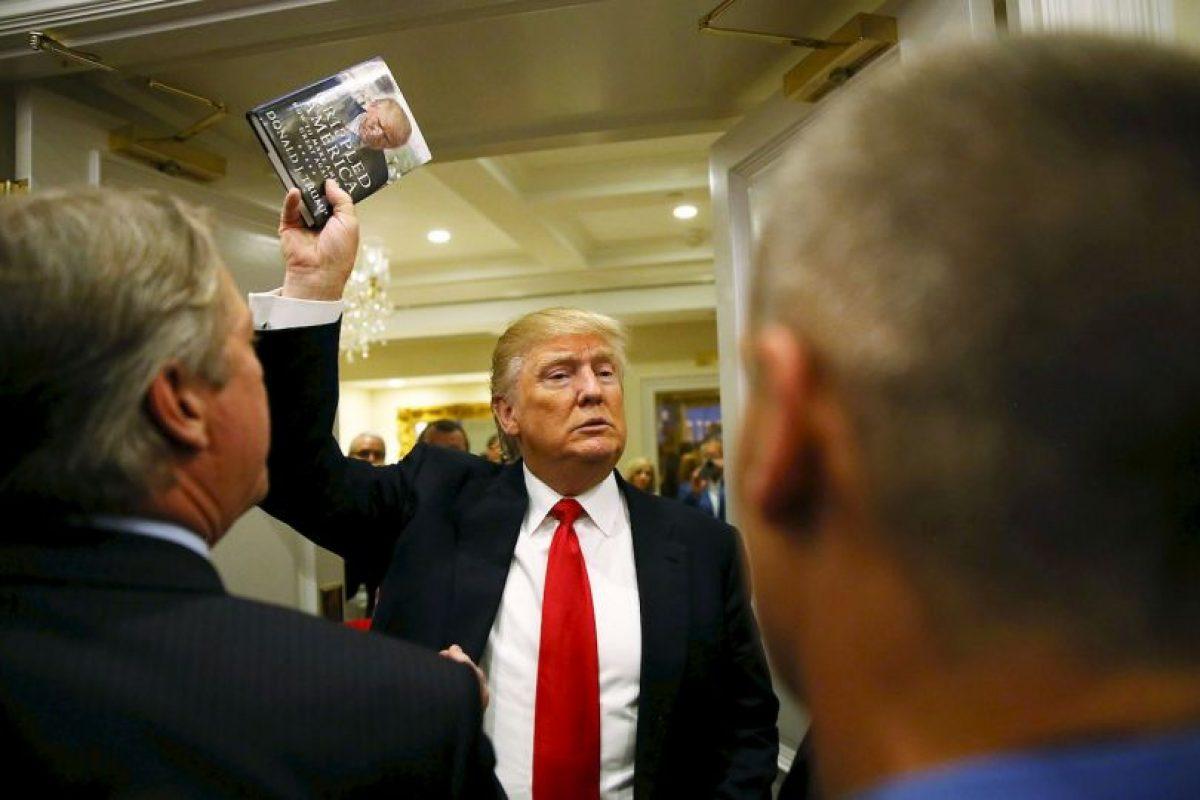 Sin dar marcha atrás a su polémica campaña. Foto:AFP. Imagen Por: