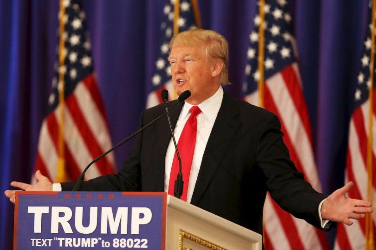 Donald Trump sigue liderando la contienda del Partido Republicano Foto:AFP. Imagen Por: