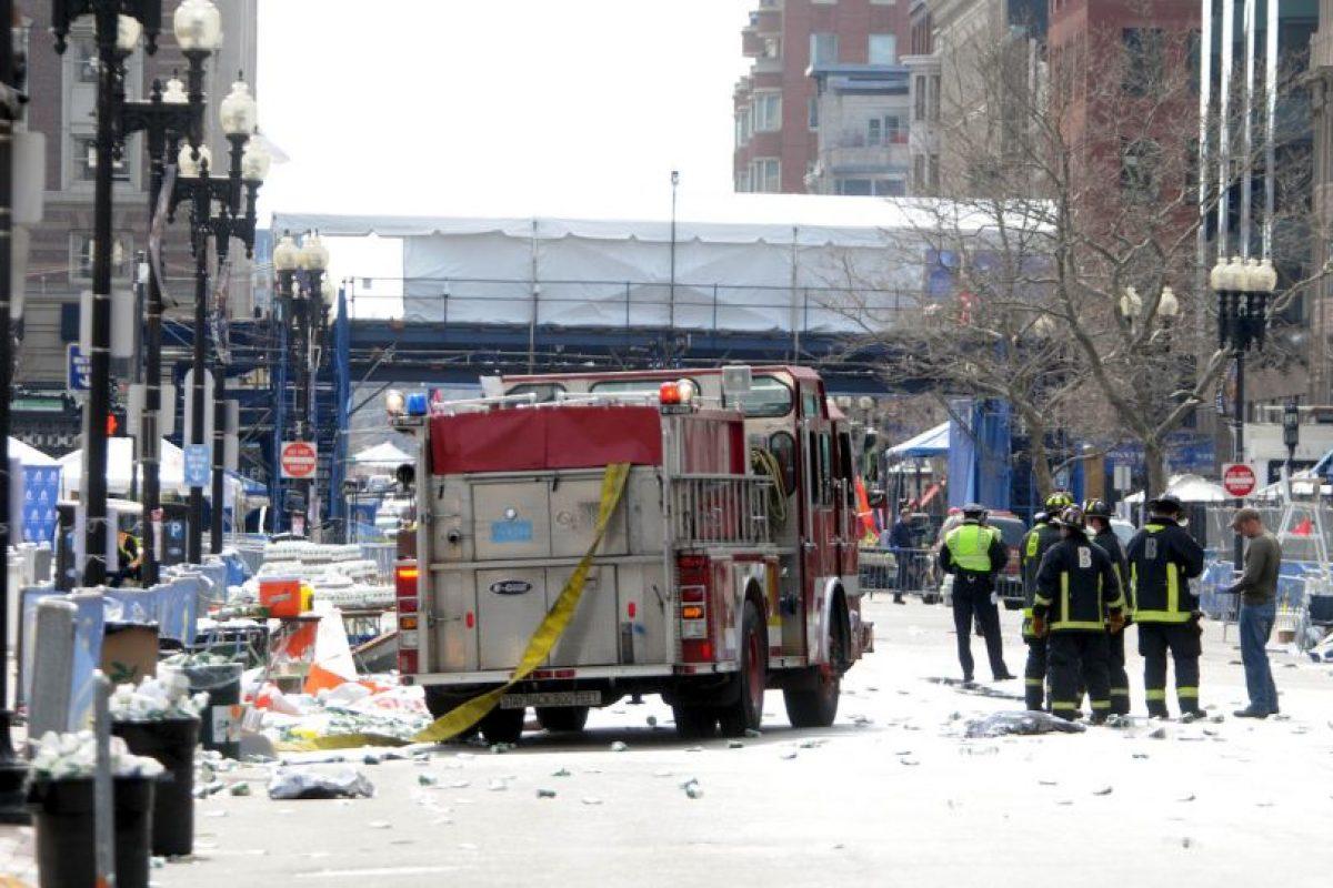 Todo ocurrió el 15 de abril de 2013, cuando se llevaba a cabo el maratón en Boston. Foto:AFP. Imagen Por: