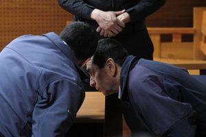 Los hermanos Pedro y Marcos Elgueta durante una pasada formalización. Foto:Archivo Agencia Uno. Imagen Por: