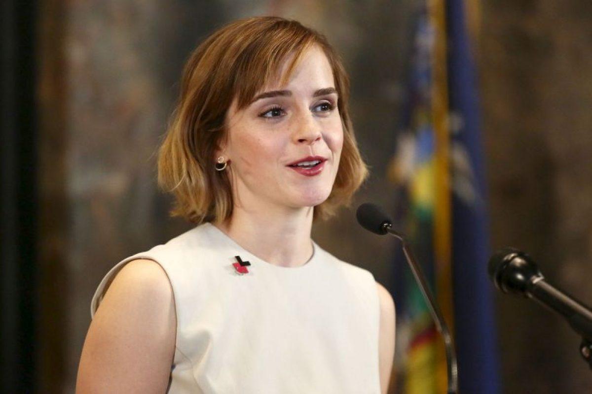 """""""Que me paguen lo mismo que mis compañeros varones"""", Emma Watson Foto:Getty Images. Imagen Por:"""