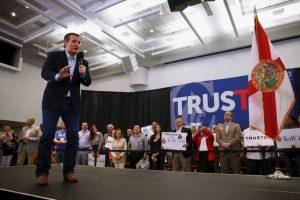 Su oponente más poderoso es Ted Cruz. Foto:AP. Imagen Por: