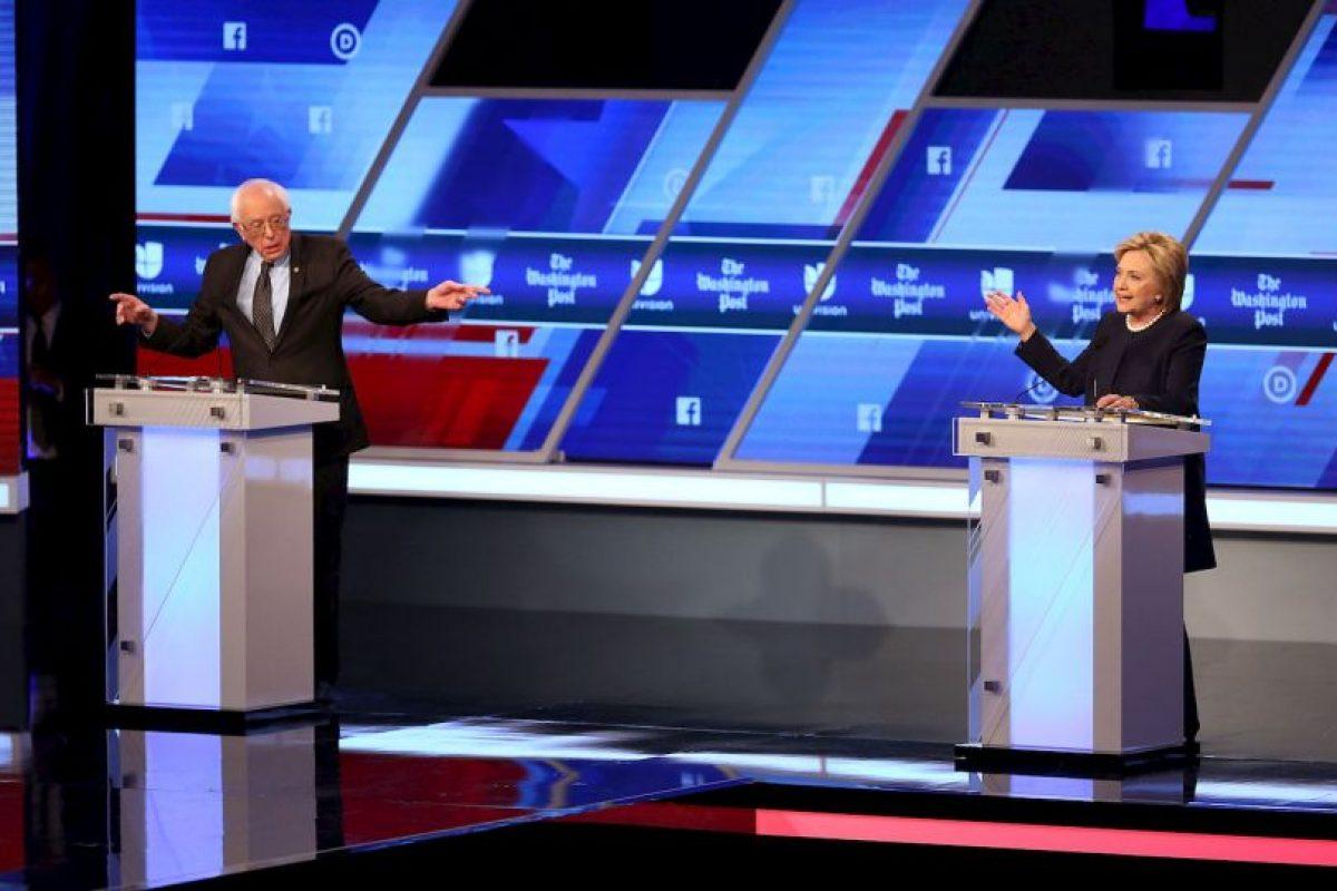 Ambos se enfrentarán en las primarias del próximo martes 15 de marzo Foto:AFP. Imagen Por: