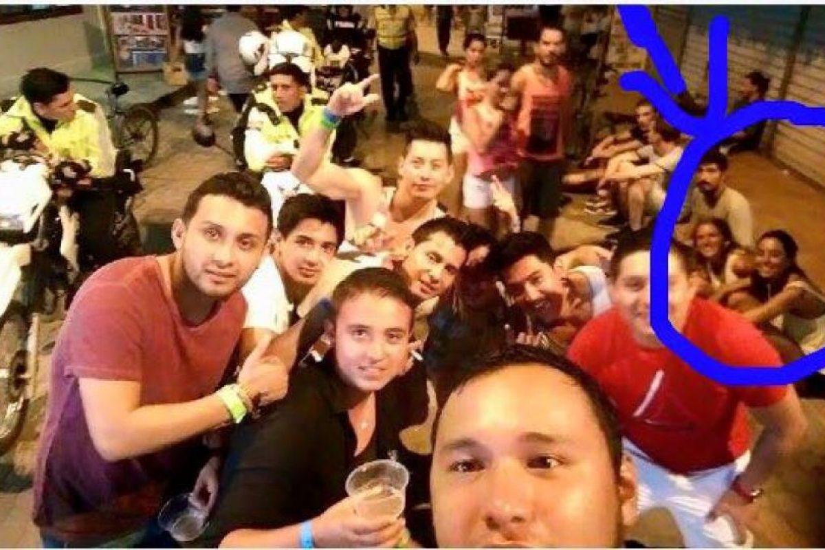 El selfie donde supuestamente aparecen las jóvenes argentinas Foto:Instagram.com – Archivo. Imagen Por: