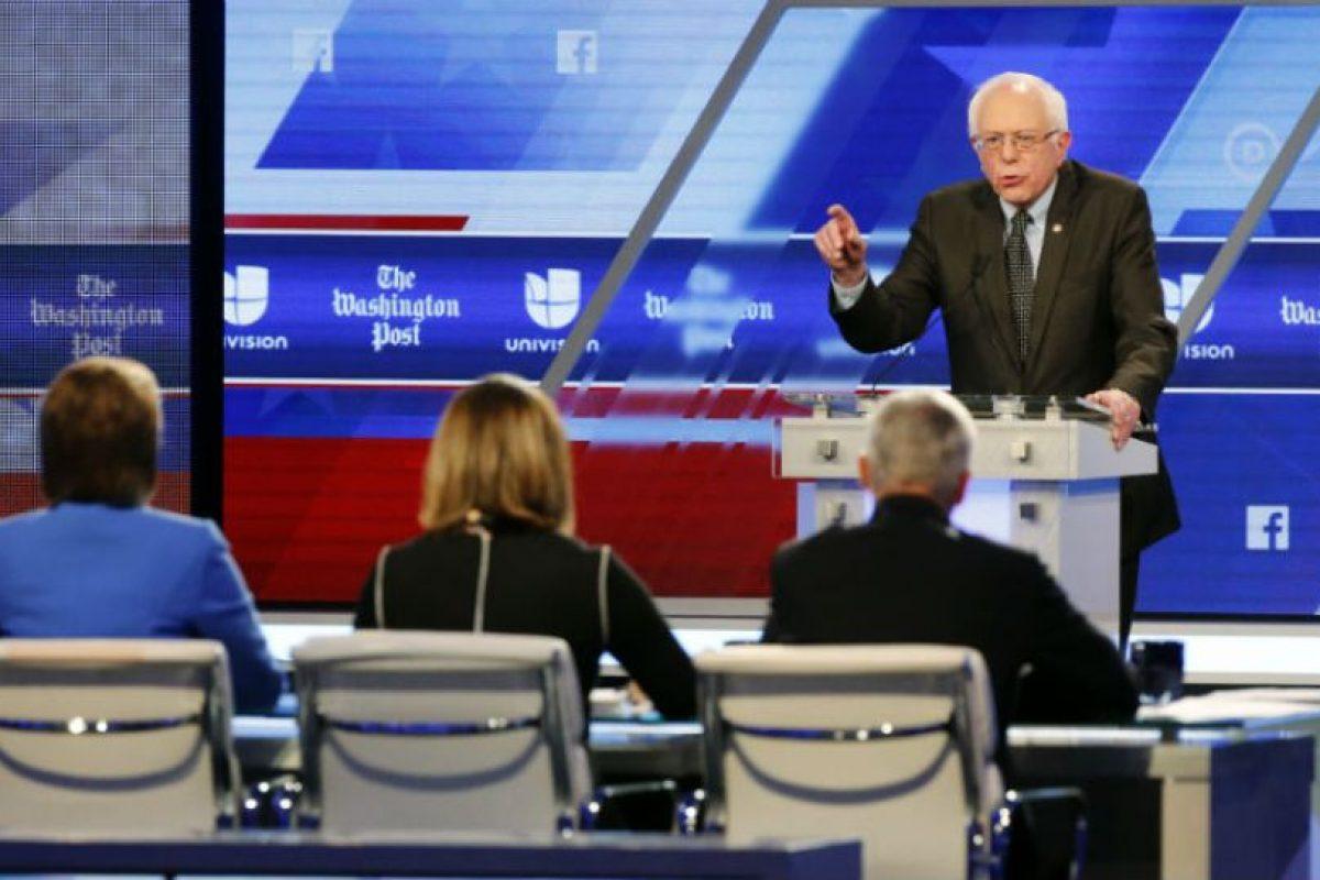 Mientras que Sanders solo ha ganado ocho estados. Foto:AP. Imagen Por: