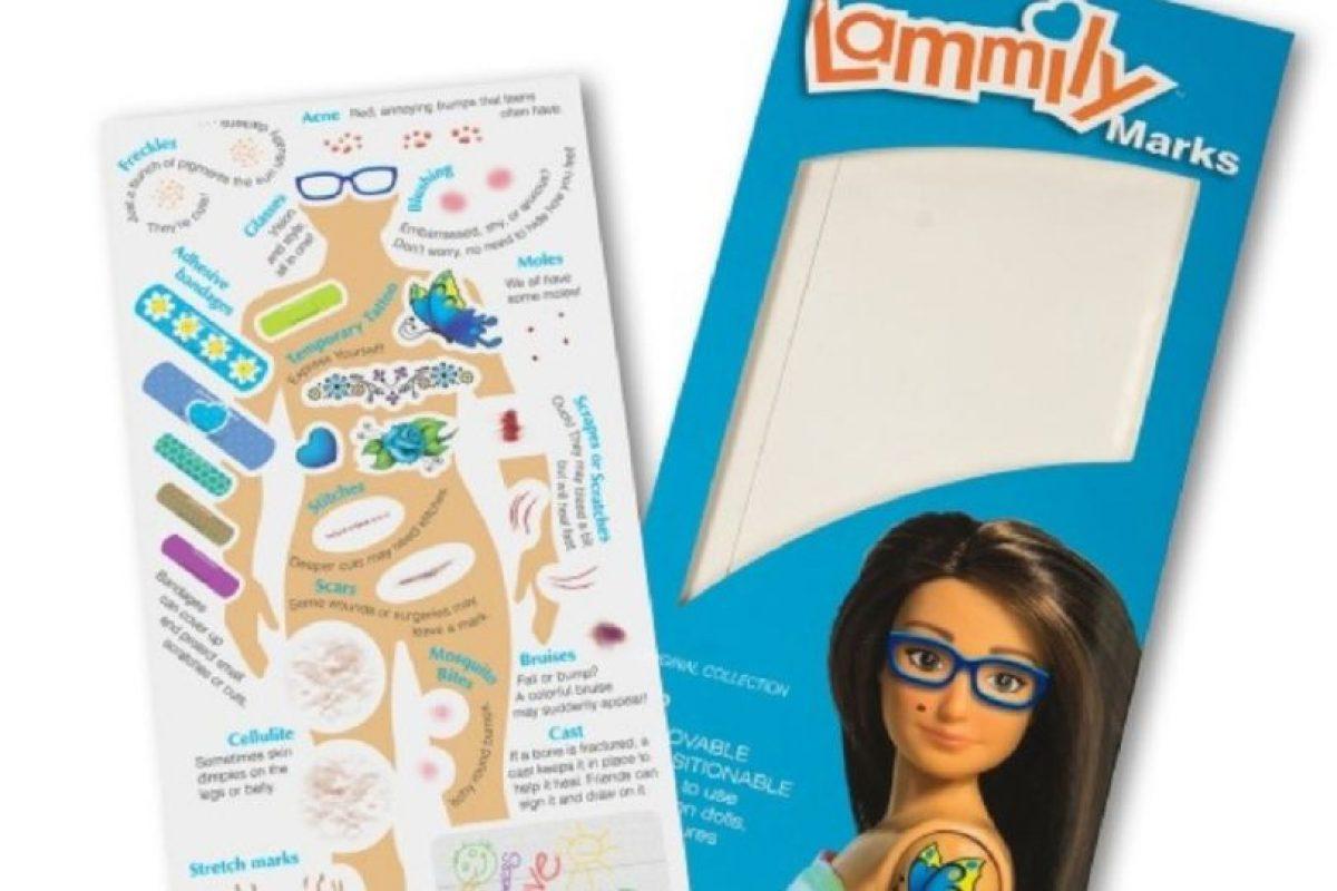 """Lammily: Nickolay Lamm creó a la muñeca en 2013. La muñeca – basada en el físico de una chica """"promedio"""" de 19 años de edad (cinco pies, cuatro pulgadas (163.3 centímetros) de altura, 150 libras (68 kilogramos) de peso, con 33.5 pulgadas (85 centímetros) de busto) – nació de imágenes de photoshop de Lamm de Barbie 'la mujer real'. Foto:vía Lammily. Imagen Por:"""