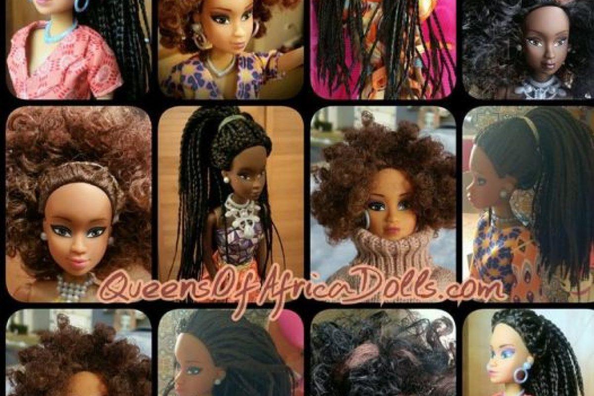 Vienen en diferentes tipos de negro y con trajes tradicionales africanos y modernos. También tienen consignas políticas. Foto:vía Facebook/Queensof Africa. Imagen Por: