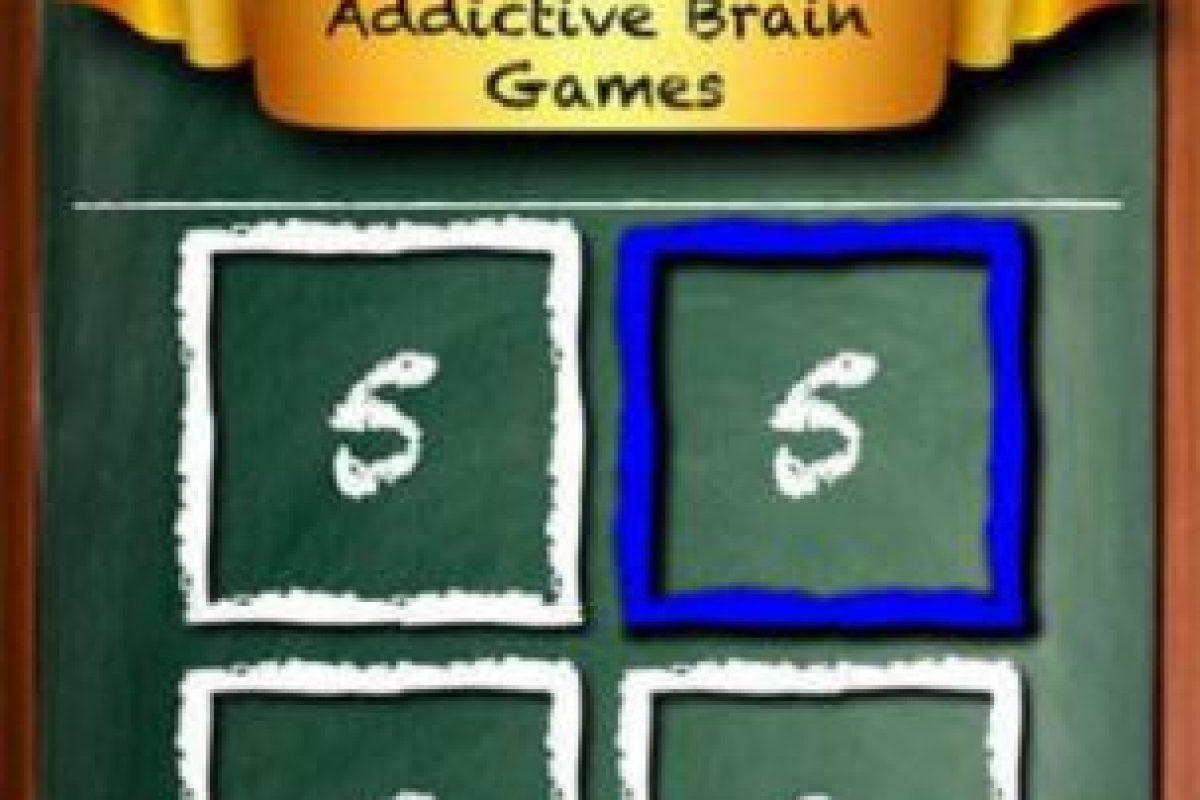 Brain Bust es un juego en el que podrán probarse en una serie de adictivos y competitivos juegos para el cerebro contra otras personas. Foto:Revosoft Technologies PTY LTD. Imagen Por:
