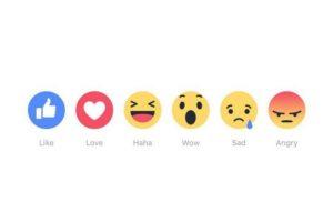 Estos son los recientes Reactions de la red social Foto:Facebook. Imagen Por: