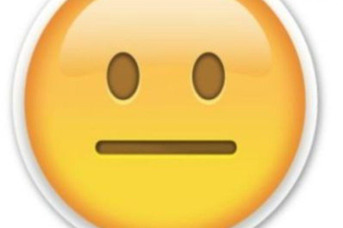 Sin expresión Foto:Emojipedia. Imagen Por: