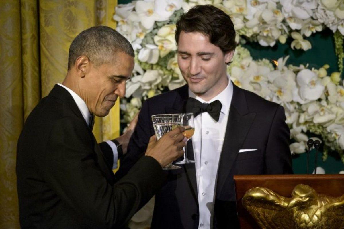 Se realizo una cena en honor a los visitantes Foto:AFP. Imagen Por: