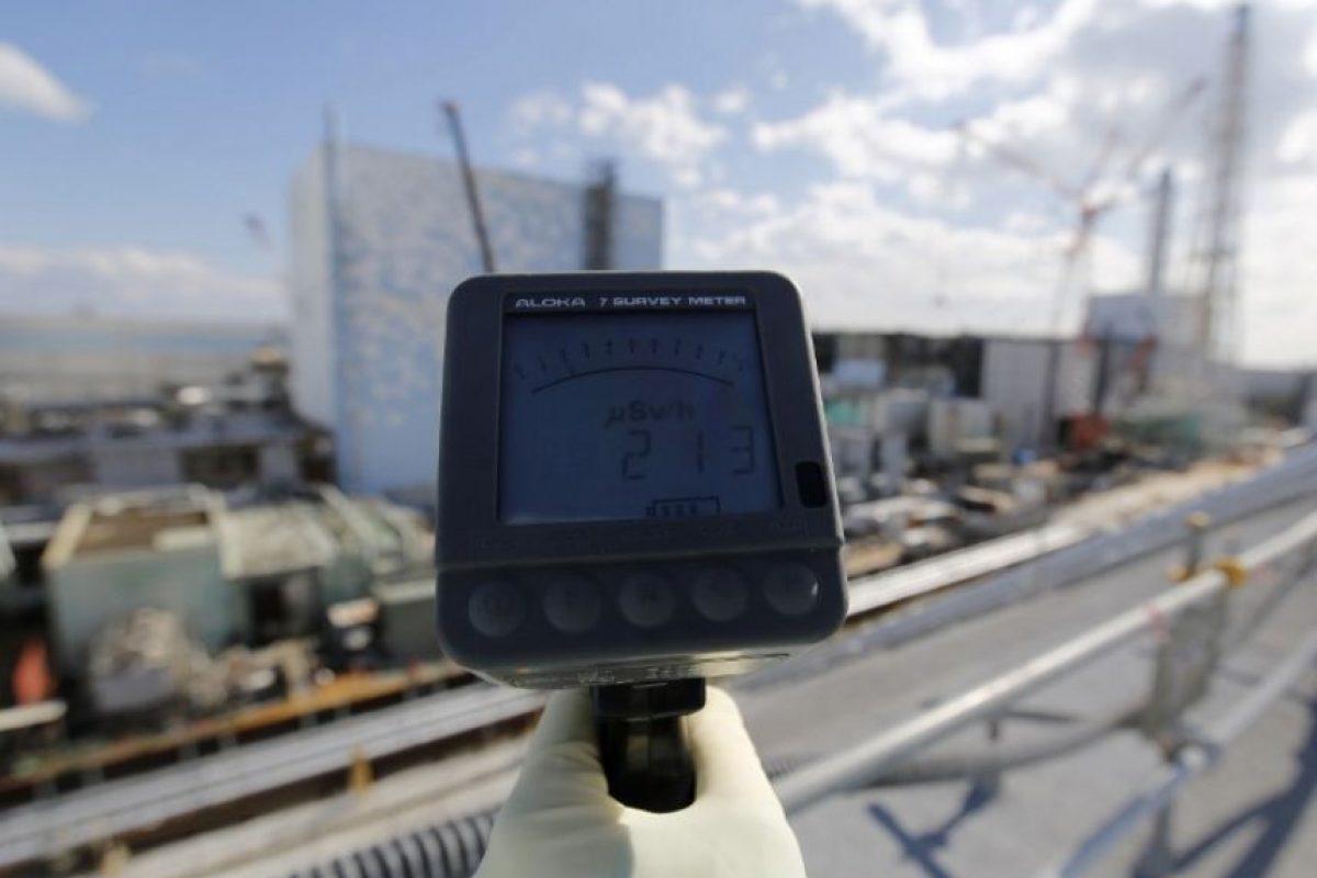 Y la liberación de radiación. Foto:AFP. Imagen Por: