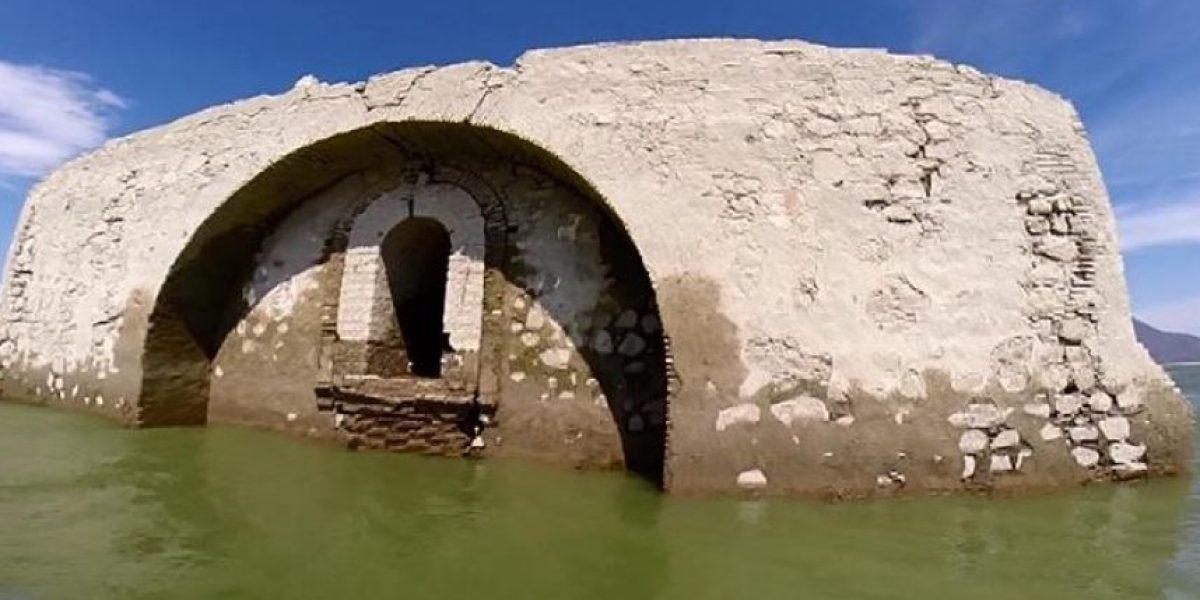 México: templo antiguo vuelve a la luz por sequía