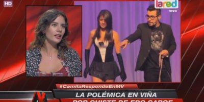 Camila Vallejo y rutina de Edo Caroe en Viña: