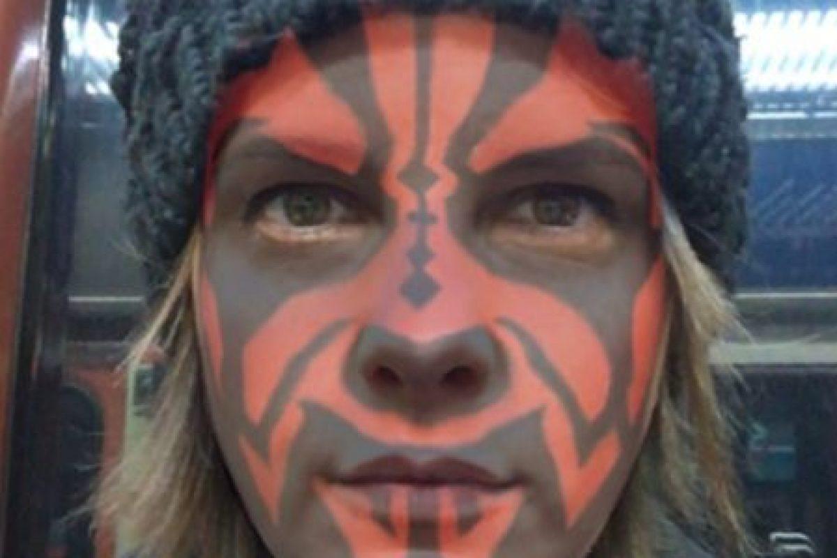Filtro Darth Maul de Star Wars Foto:Masquerade. Imagen Por: