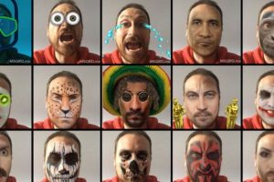Bowie, Joker, Mimi, calavera y otros filtro más. Foto:Masquerade. Imagen Por: