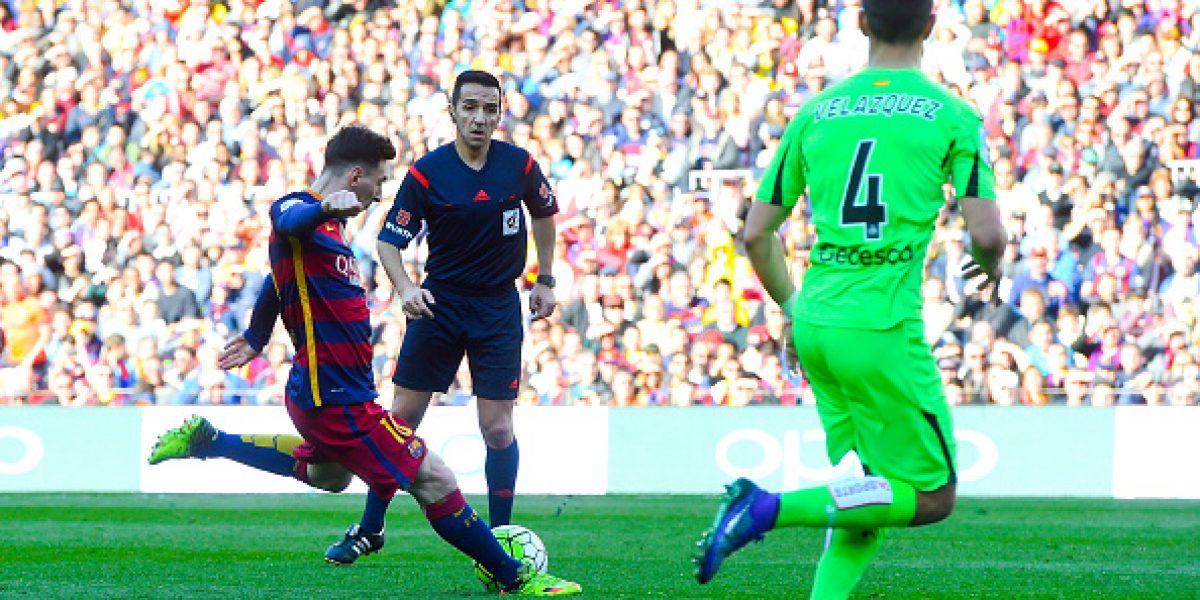 Barcelona sigue de sólido líder tras aplastar a Getafe con Bravo como titular