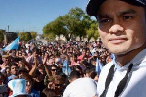 """Así se veía """"El Chino"""" Maidana antes de retirarse Foto:Vía acebook.com/chinomaidanaoficial/. Imagen Por:"""