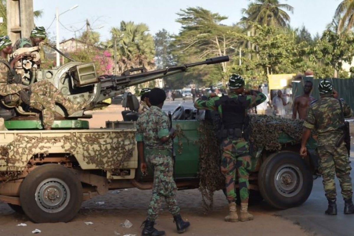Las autoridades cerraron cercaron la zona Foto:AFP. Imagen Por:
