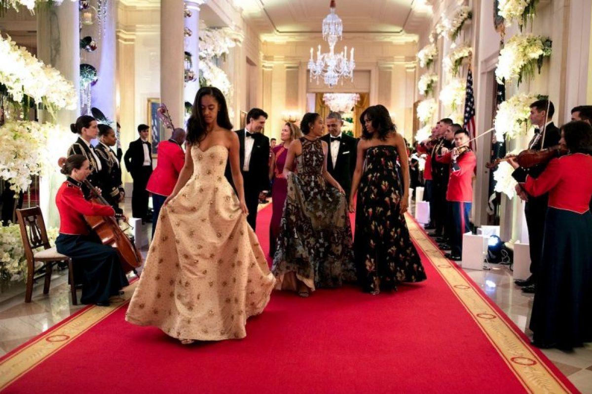 Así debutaron las hijas de Obama en las cenas oficiales Foto:whitehouse.gov. Imagen Por: