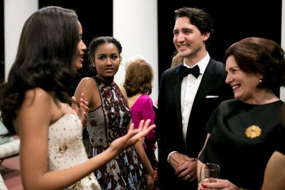 Las jóvenes tuvieron oportunidad para conversar con el primer ministro Justin Trudeau. Foto:whitehouse.gov. Imagen Por: