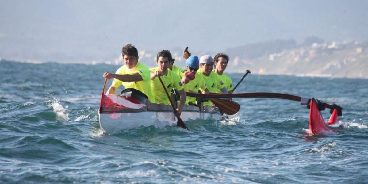 Clínica de canotaje polinésico: este domingo Maitencillo albergará segunda jornada