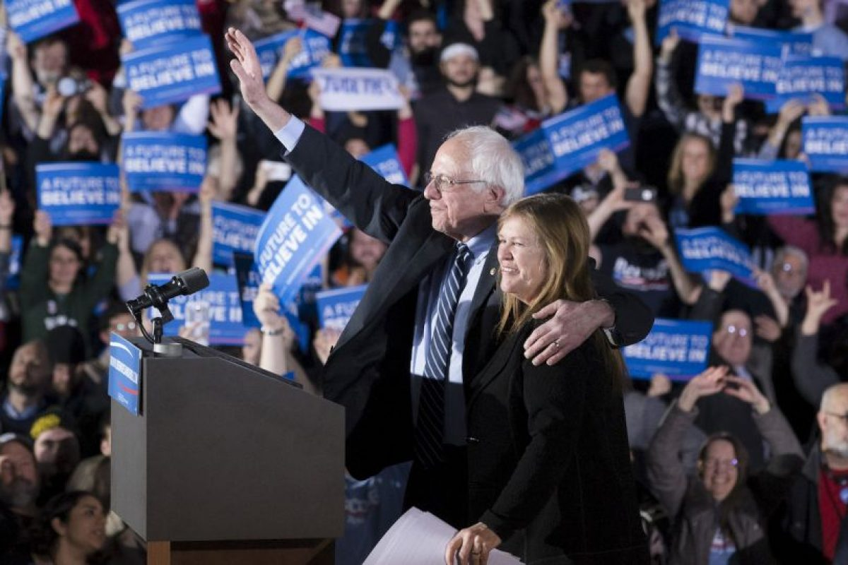 Bernie Sanders es el único oponente de Hillary Clinton para obtener la nominación presidencial del Partido Demócrata. Foto:AP. Imagen Por: