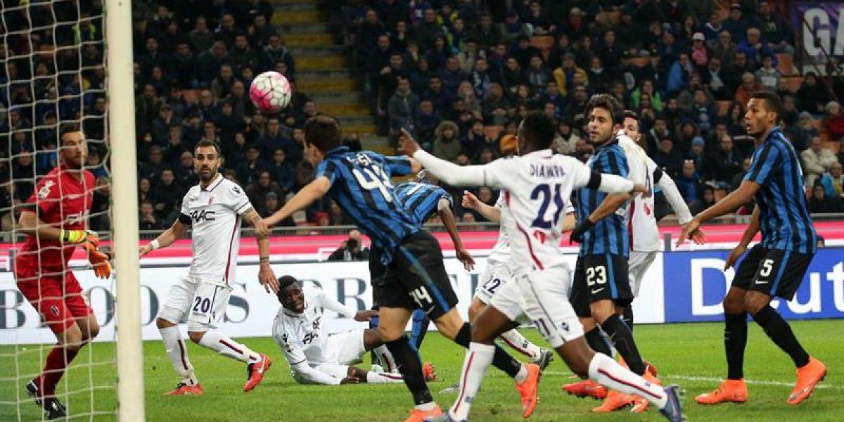 Con el Pitbull Medel como figura Inter ganó y se afianza en zona de copas europeas