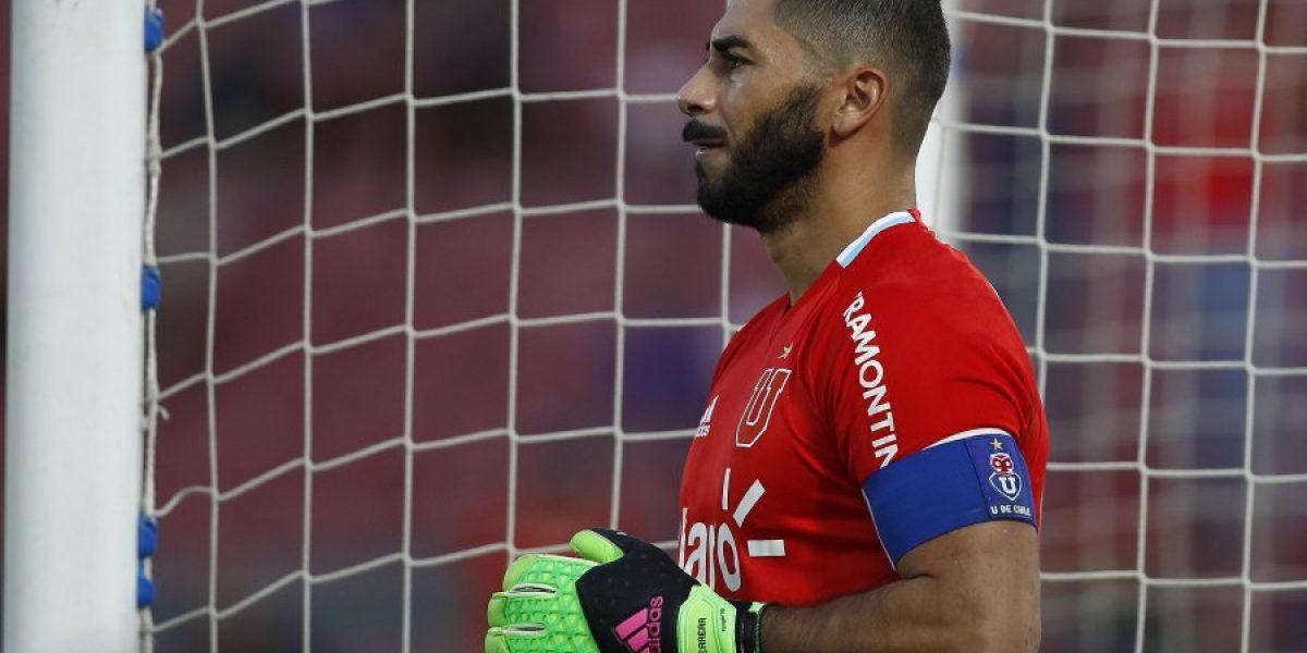 El lamento de Herrera tras sus errores en los goles de la U. de Conce