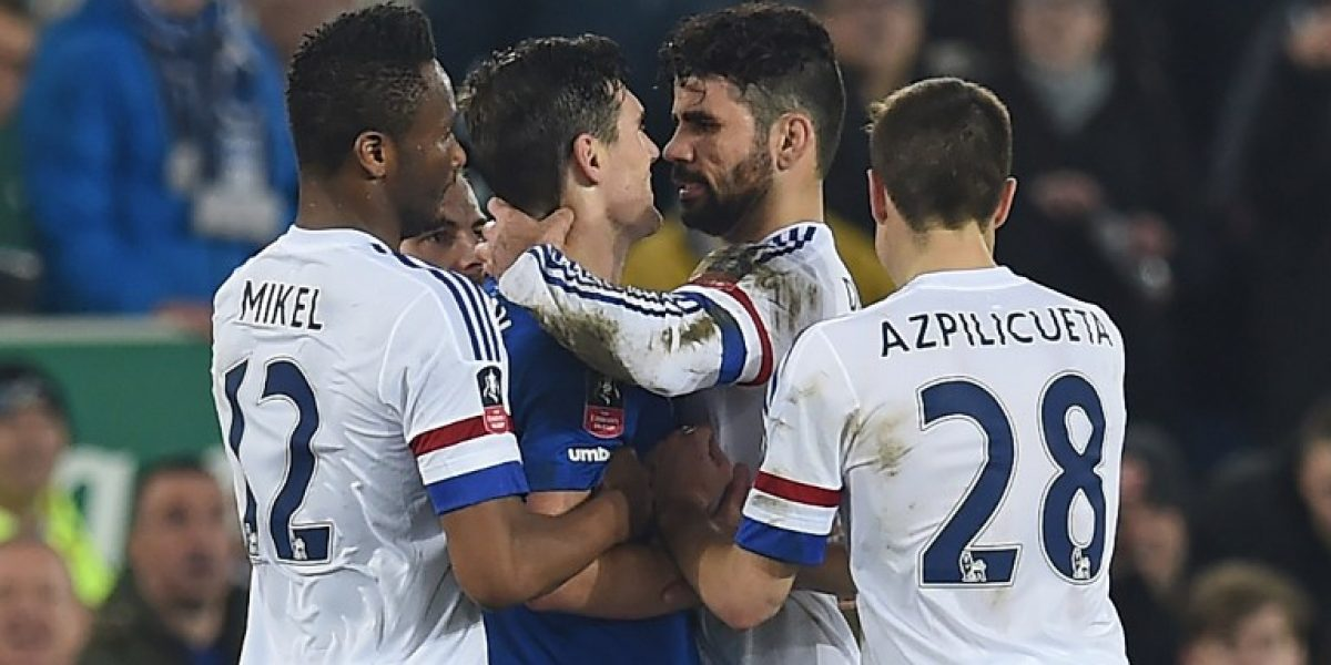 Chelsea defiende a Diego Costa: