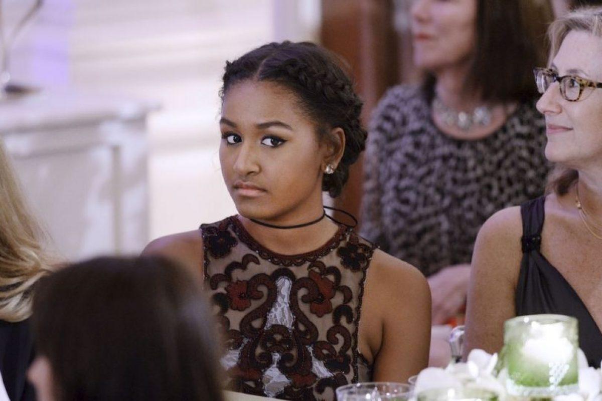 Por su parte Sasha aún vivirá con ellos hasta que termine la preparatoria en Washington Foto:Getty Images. Imagen Por: