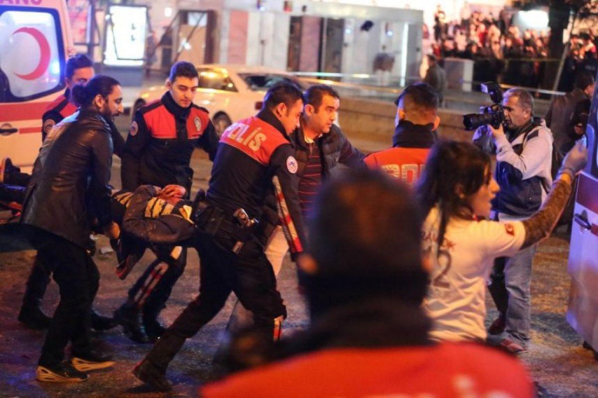 Explosión en el centro de Ankara Foto:AFP. Imagen Por: