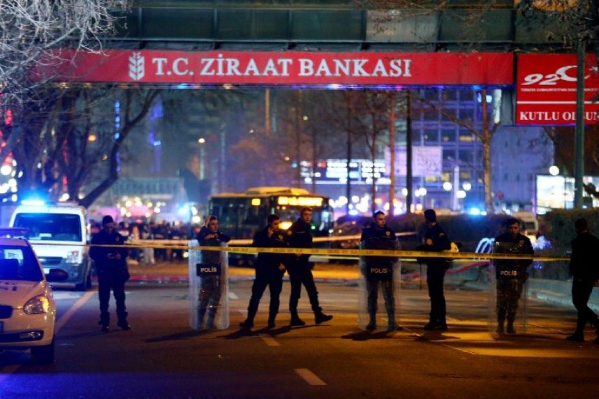 En el que murieron 30 personas, en su mayoría militares. Foto:AFP. Imagen Por: