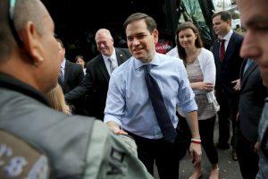 Este martes Marco Rubio se enfrentara a sus opositores republicanos en las primarias de Florida. Foto:AFP. Imagen Por: