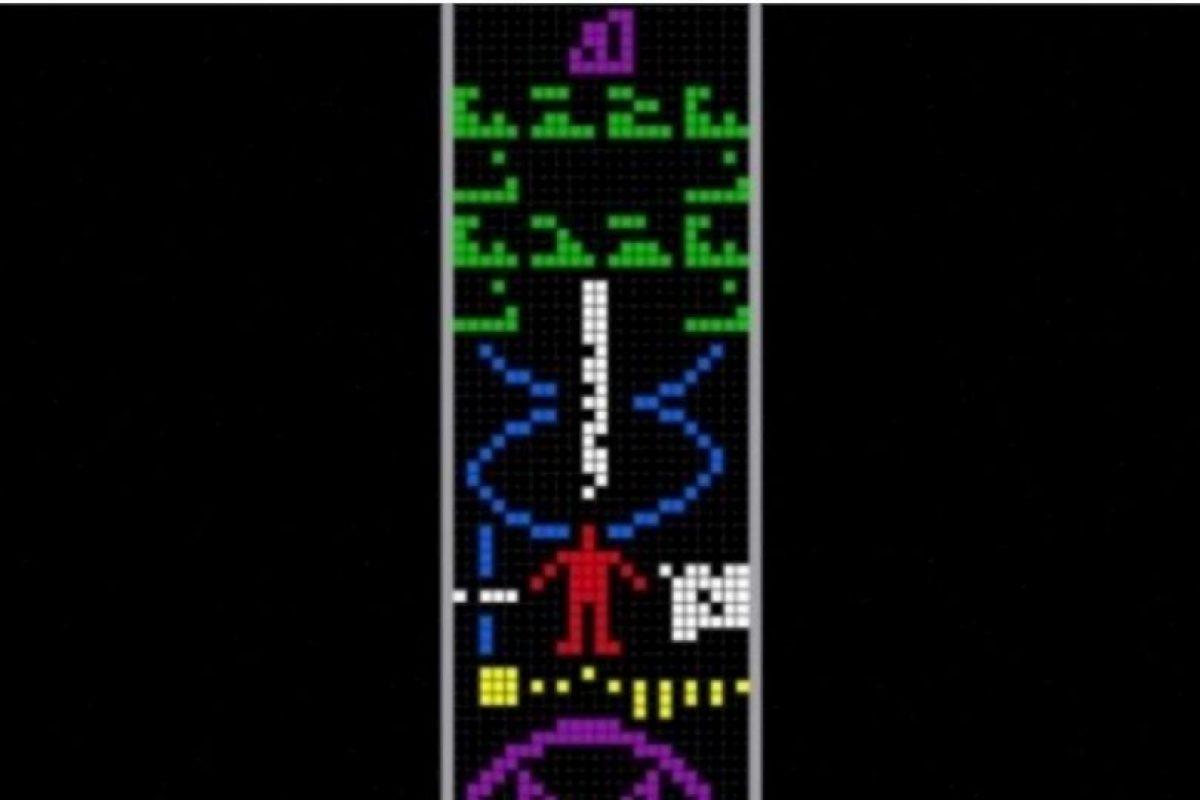 Se envió el 16 de noviembre de 1974. Fue dirigido al cúmulo de estrellas llamado M13, a una distancia de 25 mil años luz Foto:Wikimedia.org. Imagen Por: