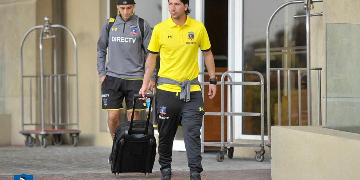 Colo Colo ya llegó a Belo Horizonte para el partido con Atlético Mineiro