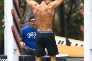 El actor tiene un dura rutina de ejercicio en el gimnasio. Foto:Grosby Group. Imagen Por: