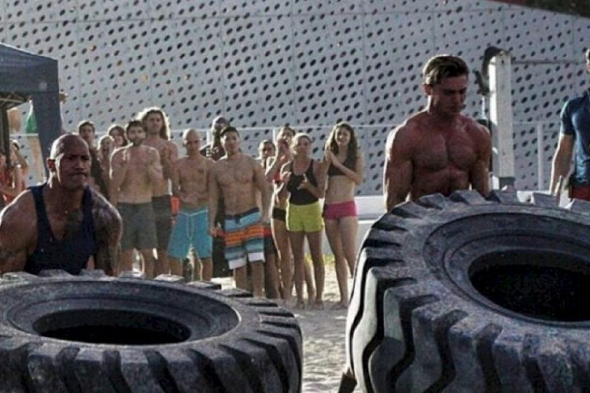 Pero no solo entrena en el gym. Foto:Grosby Group. Imagen Por: