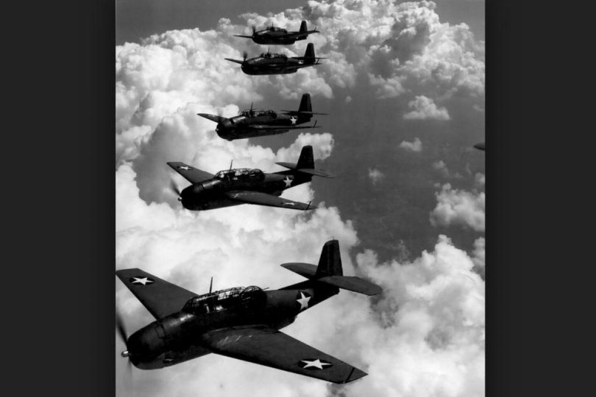 El 5 de diciembre de 1945, la operación aérea llamada Flight 19 desapareció en el triángulo. Foto:Wikipedia.org. Imagen Por: